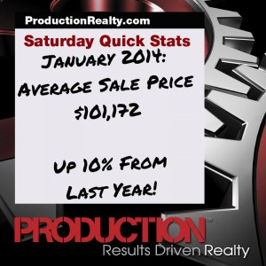 Saturday Quick Stats January 2014