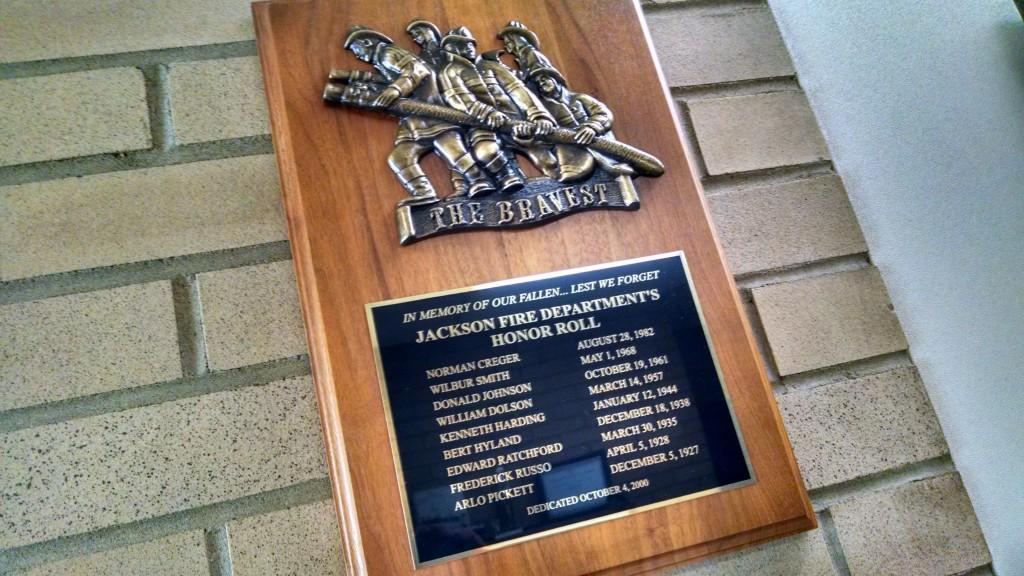 Jackson Fire Department - Fallen Heros