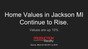 Home Values in Jackson MI